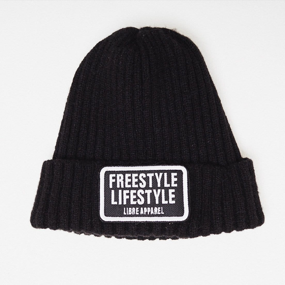 Beanie freestyle black - libre_apparel