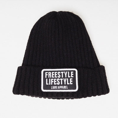 Beanie freestyle black - libre_scl