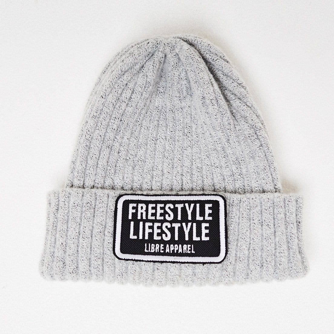 Beanie freestyle grey - libre_apparel