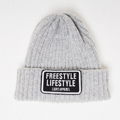 Beanie freestyle grey - libre_scl