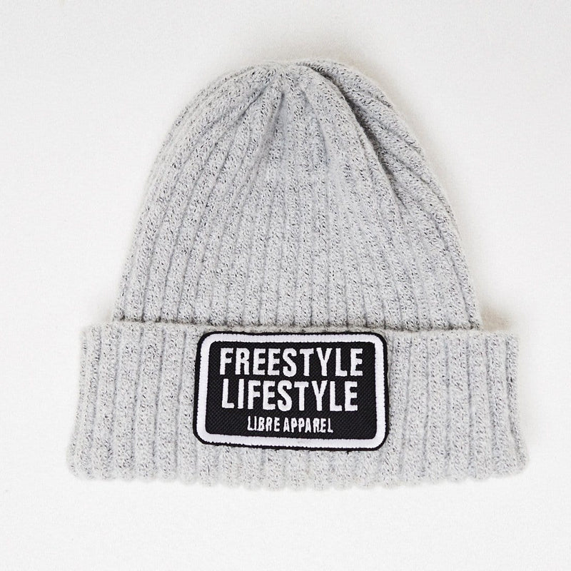 Beanie freestyle grey