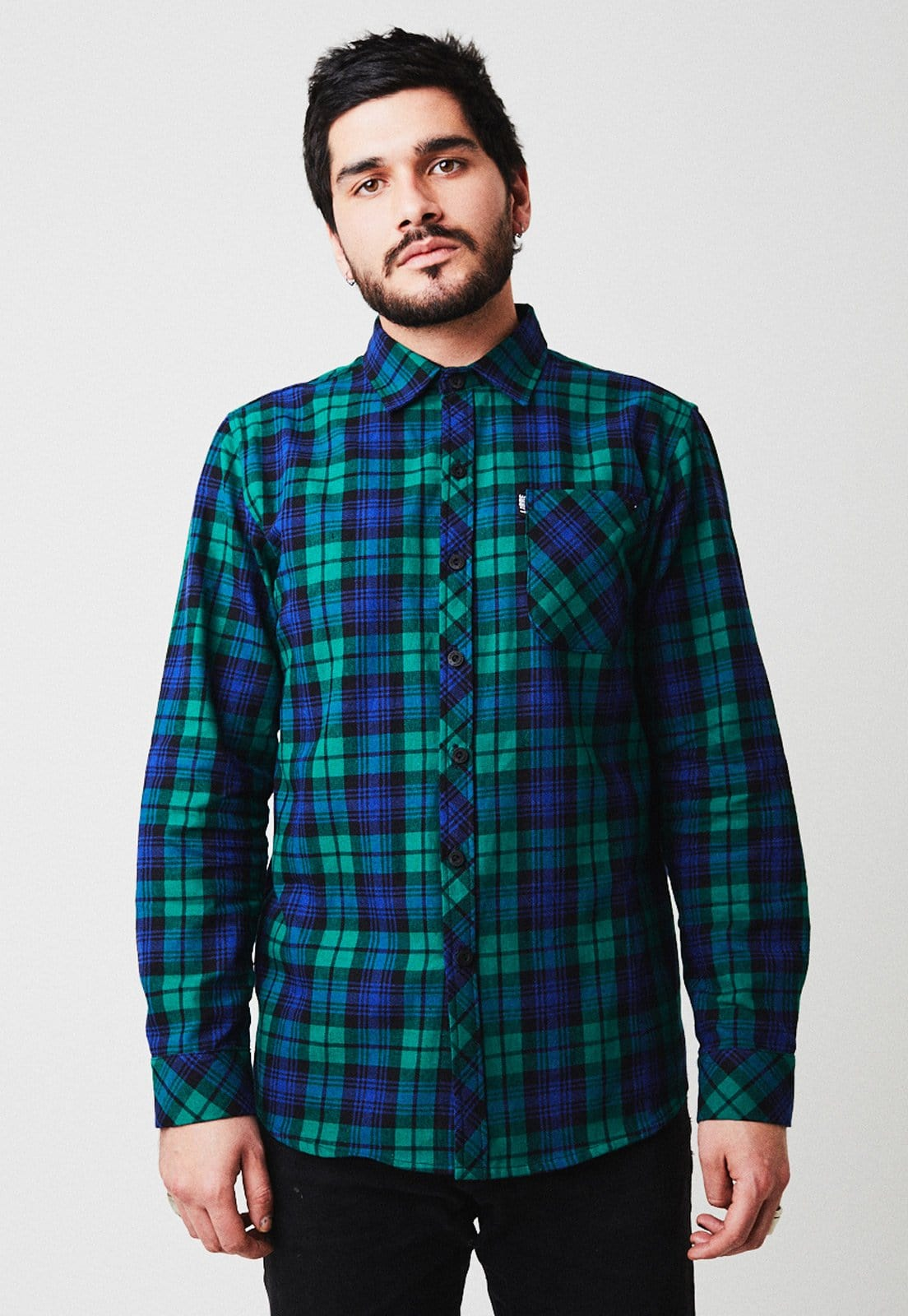 Green flannel - libre_apparel
