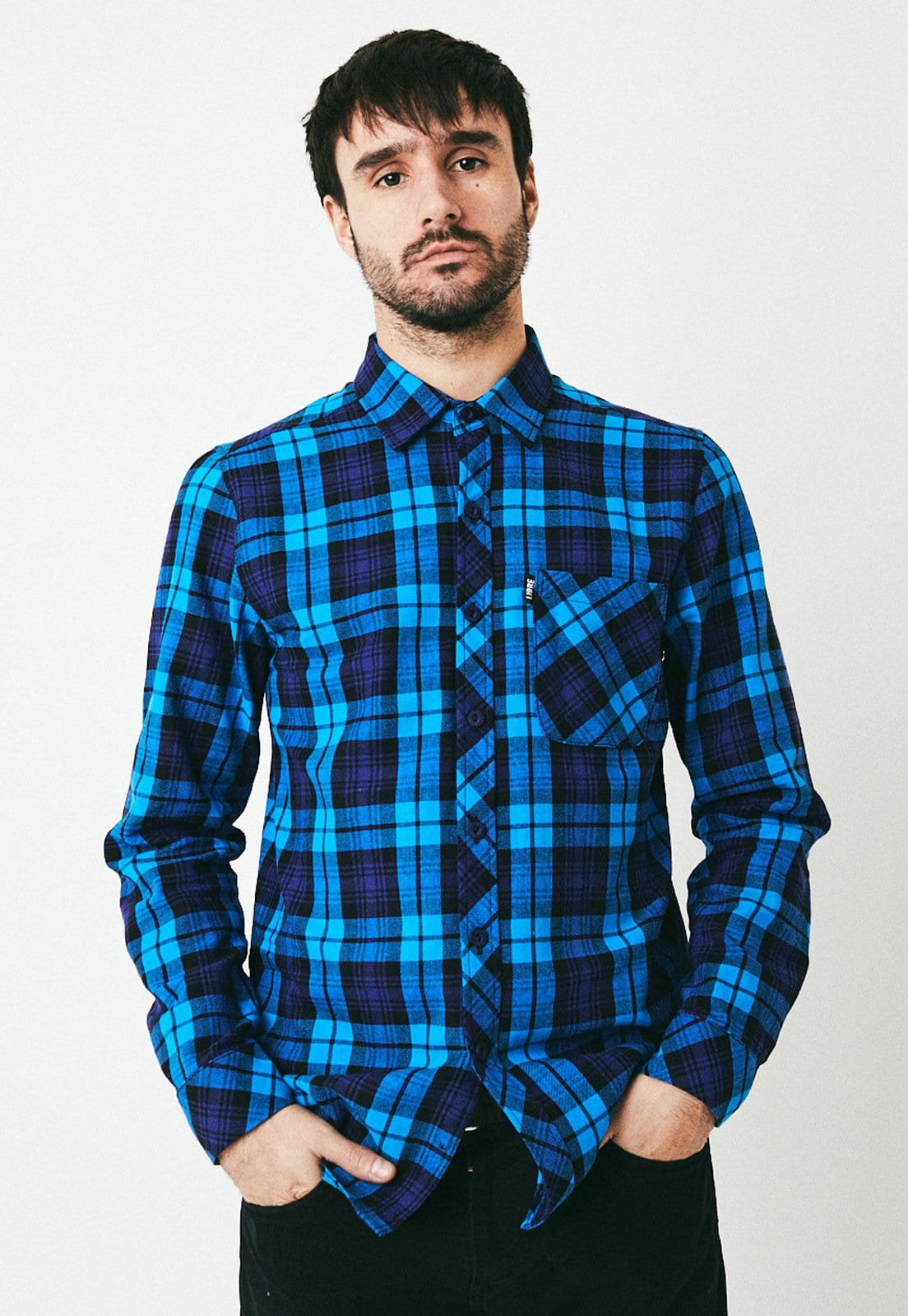 Blue flannel - libre_apparel