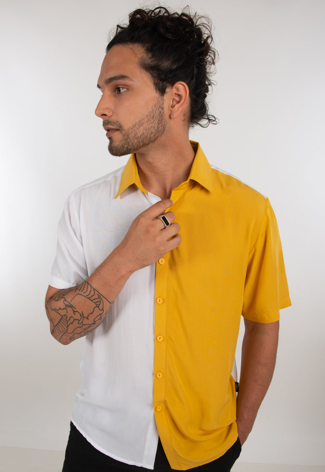 Yellow Manga Corta - libre_apparel