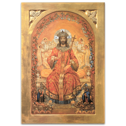 Jesus Christ the Returning King 8x10 Print