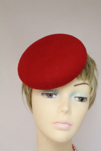 FAC09 Ladies Felt Small Round Botton shape winter Hat Base/ Races / Weddings/ Ascot