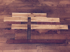 Reclaimed Cross Wall Art