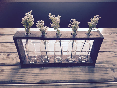 Five Bottle Centerpiece