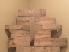 Reclaimed Cross Wall Art (Large)