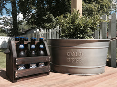 Hand Crafted Beer Caddy