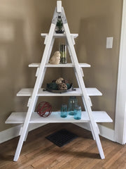 Custom Ladder Shelf