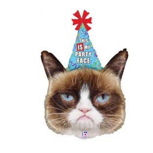 'Grumpy Cat' Foil Large Helium Balloon