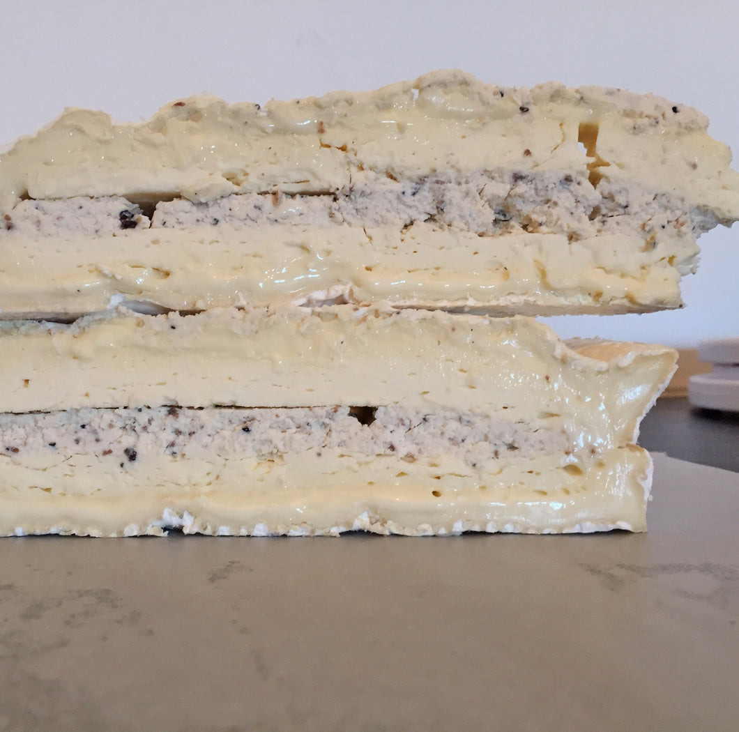 Brie De Meaux with Truffles