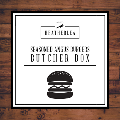 Seasoned Angus Burgers Butcher Box