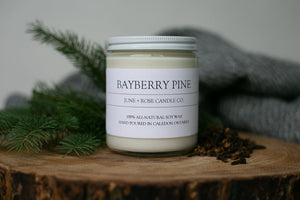 Bayberry Pine Candle (June+Rose Candle Co)
