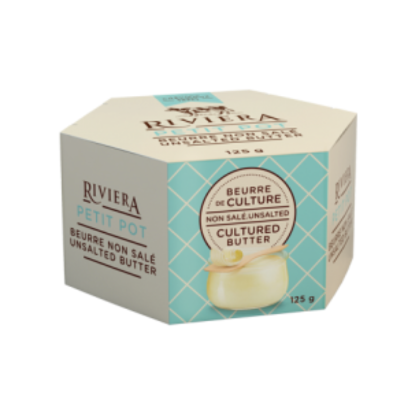Unsalted Cultured Butter | Maison Riviera