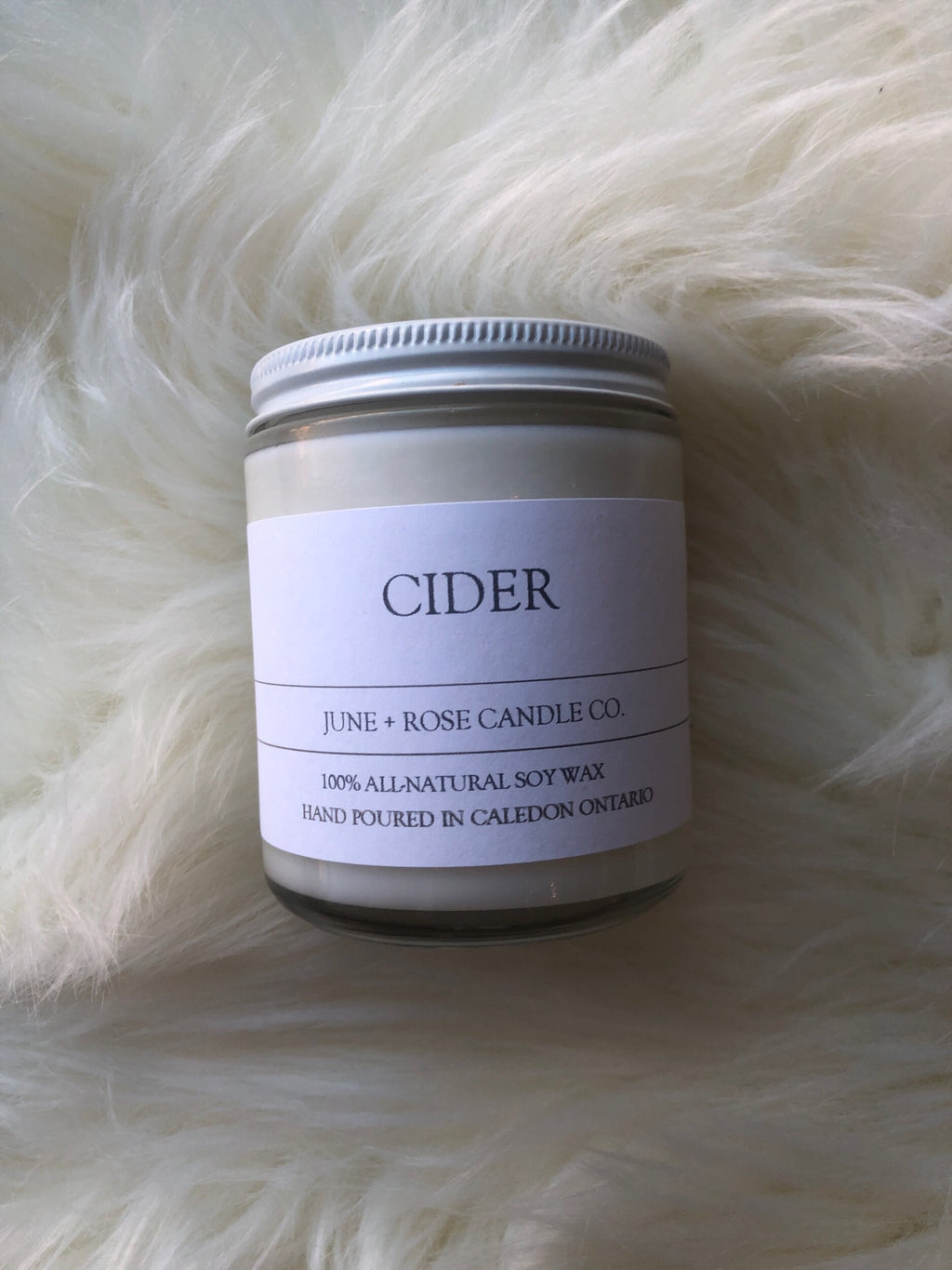 Cider Candle (June+Rose Candle Co)