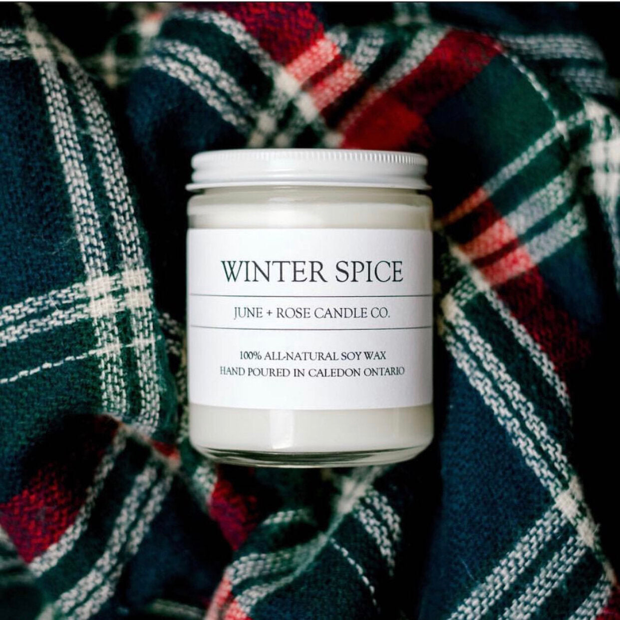 Winter Spice Candle (June+Rose Candle Co)
