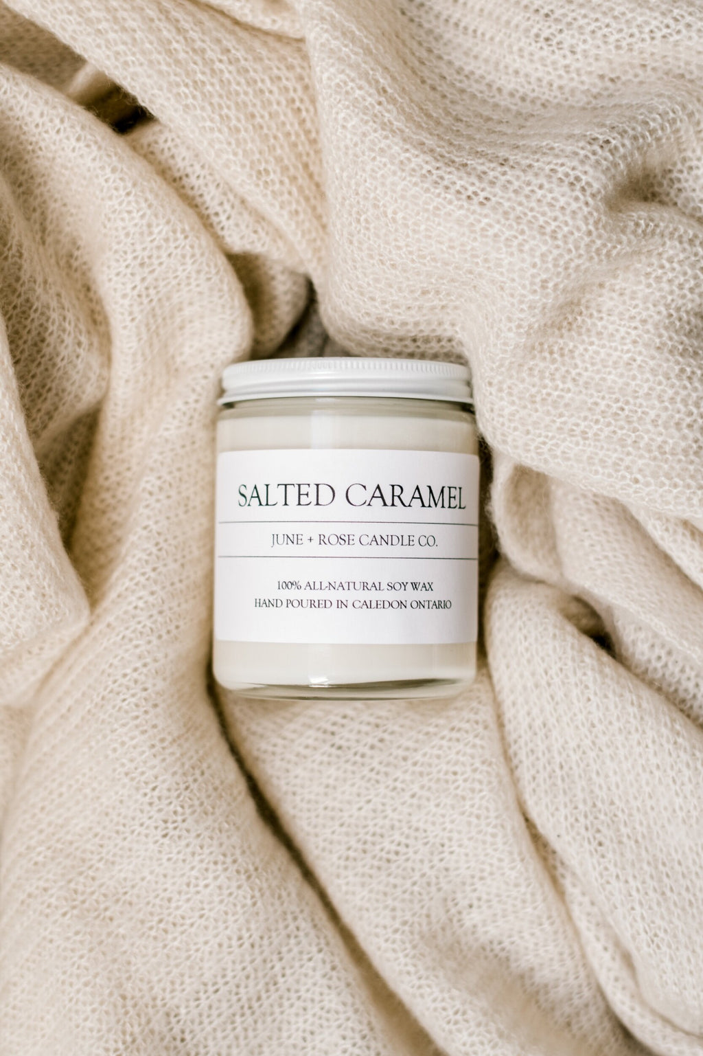 Salted Caramel Candle (June+Rose Candle Co)