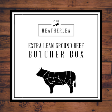 Extra Lean Ground Beef Butcher Box