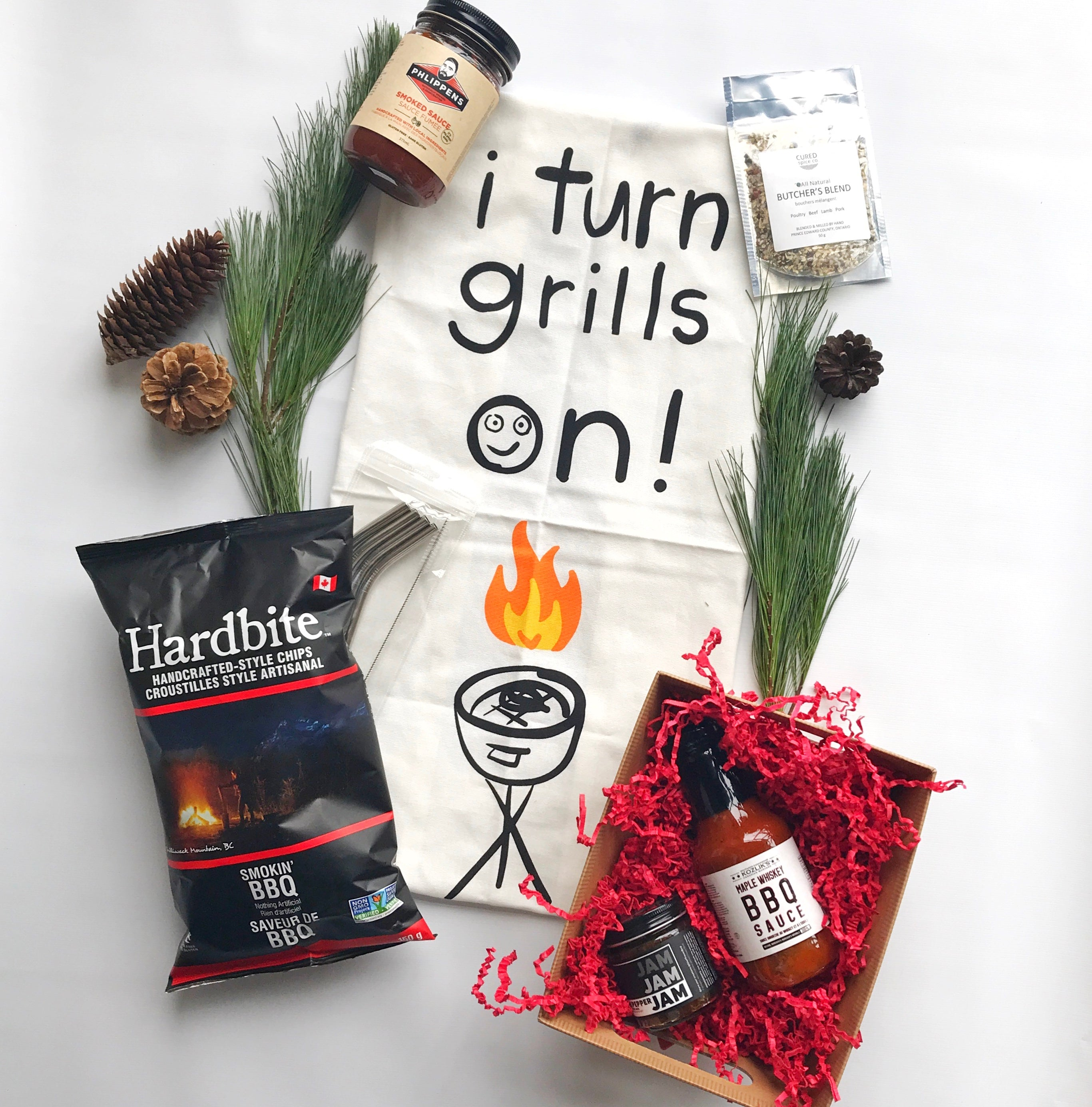 Guys That Grill Gift Basket