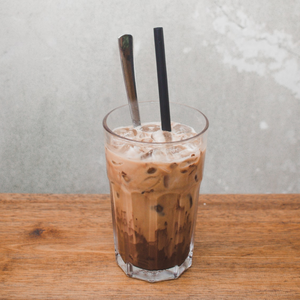 Iced Latte With Specialty Milks