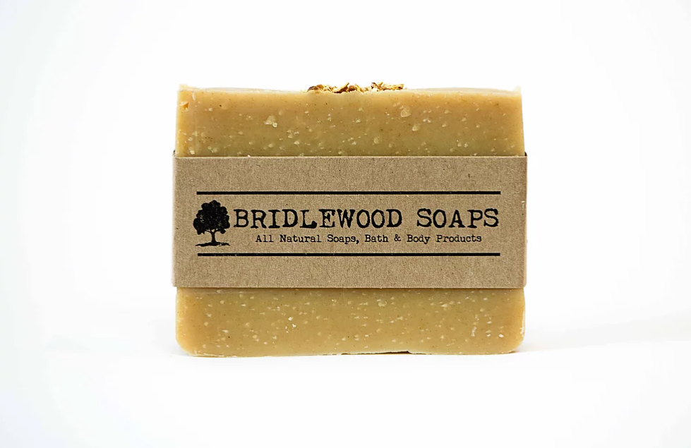 Orange Patchouli Soap Bar (Bridlewood Soaps)