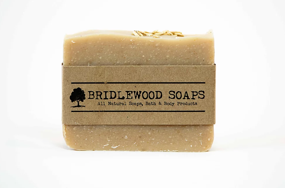 Oatmeal & Honey Soap Bar (Bridlewood Soaps)