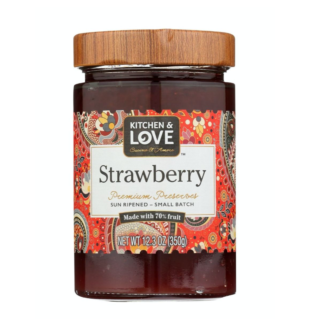 Strawberry Jam | Kitchen & Love Jam
