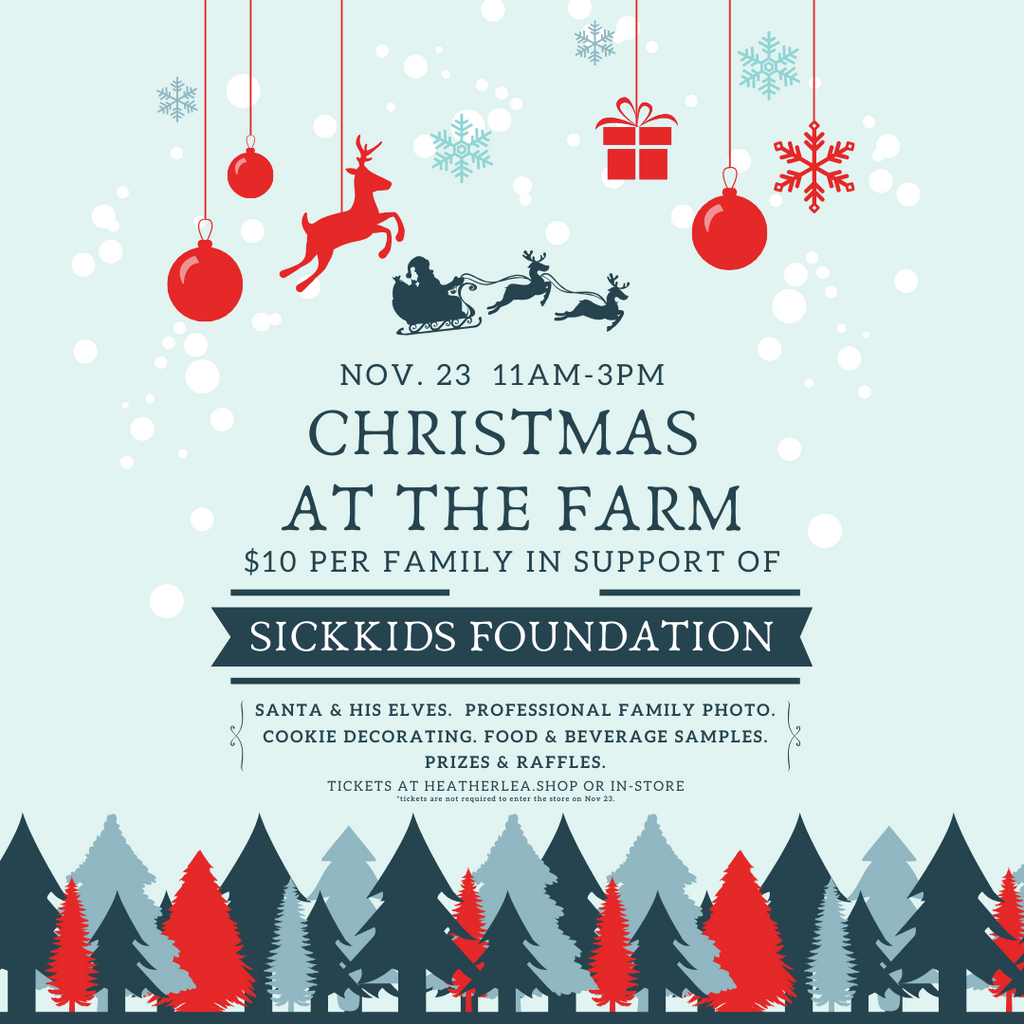 Christmas at the Farm | November 23, 11am - 3pm
