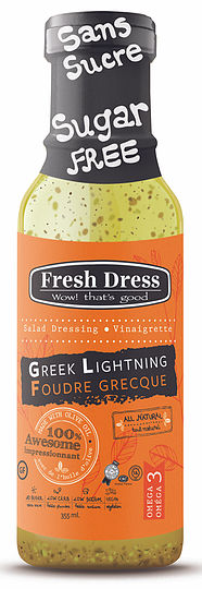 Greek Lightening Salad Dressing & Vinaigrette | Fresh Dress