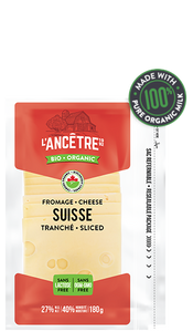 Sliced Organic Swiss | Fromagerie L'Ancetre