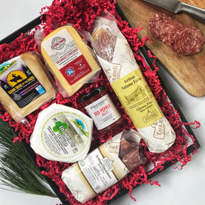 Local Foodie Charcuterie Gift Basket