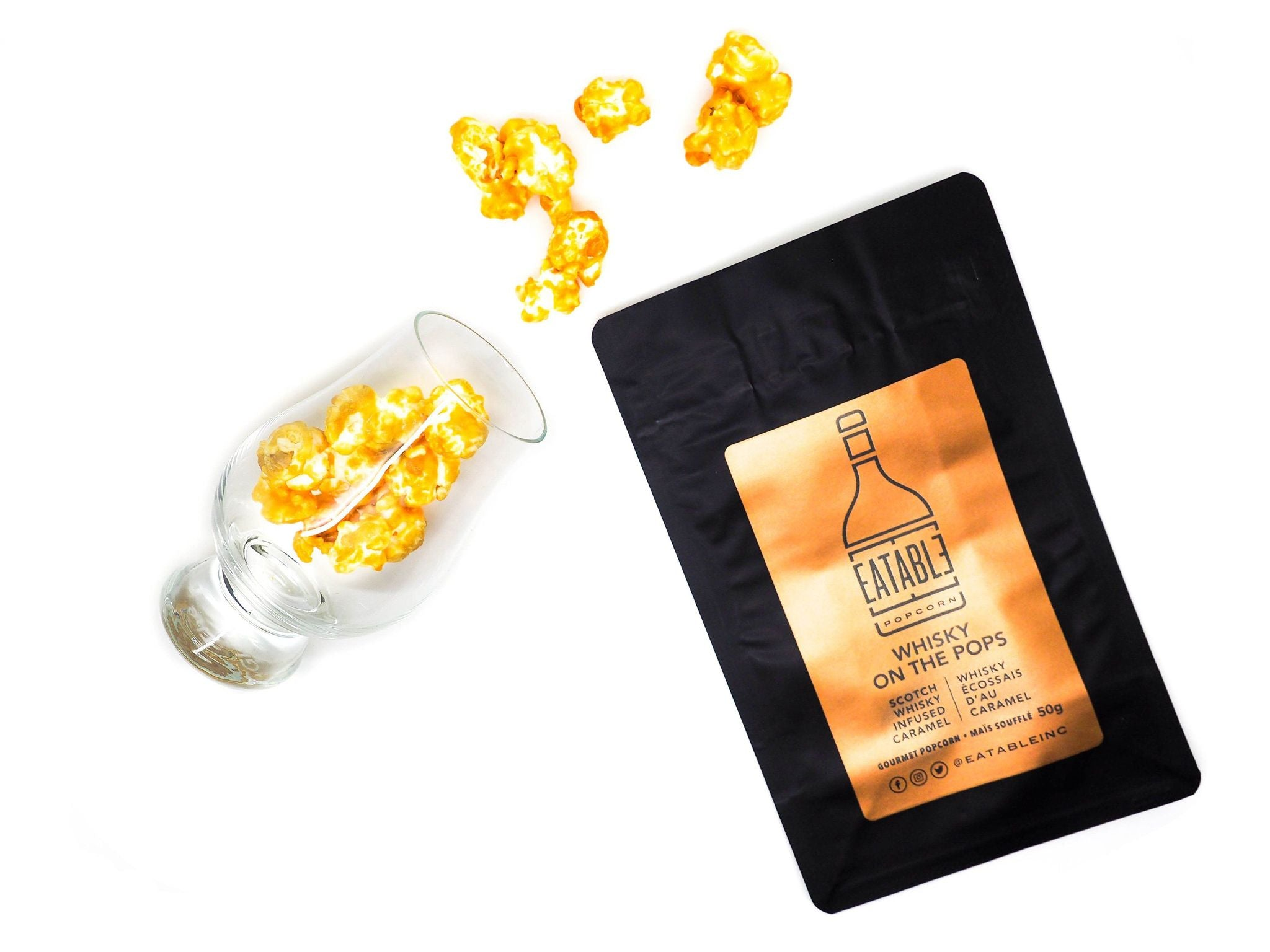 Whisky on the Pops - Gourmet Popcorn 50 gr