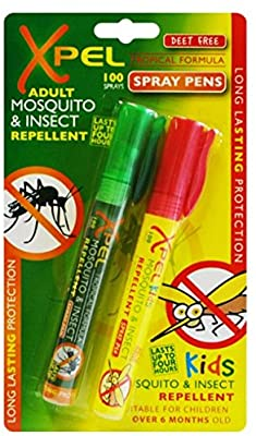 Xpel Mosquito repel spray pens