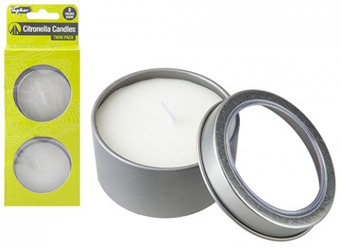 Summit Citronella Candle 2 Pack