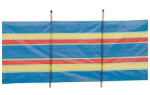 Traditional Windbreak Kingfisher 4 Pole