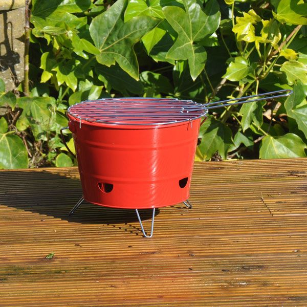 Bucket Style Charcoal Barbecue