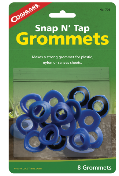 Coghlans Repair Replacement Grommets x 8