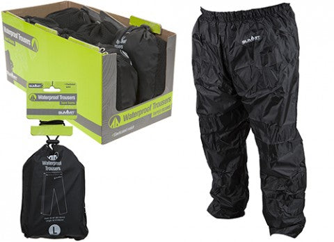 Summit Waterproof Trousers in Pouch