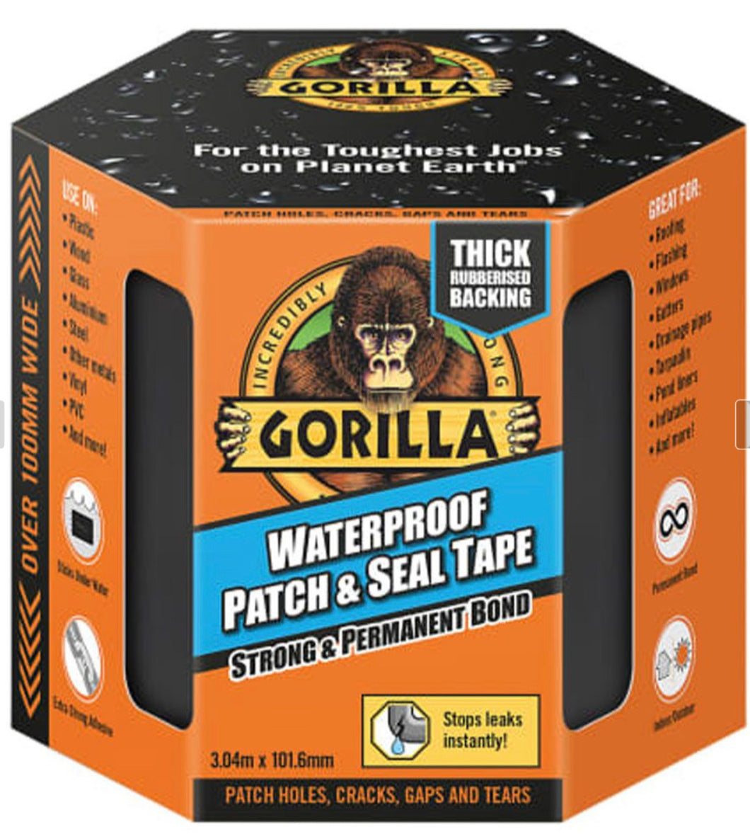 Gorilla waterproof patch and seal tape 3m x 100mm