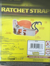 "Ratchet strap 1"" x 12'"