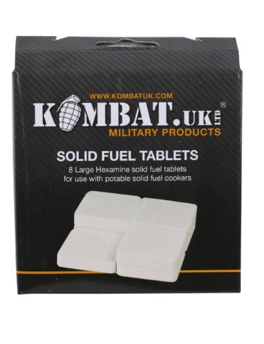 Kombat hexi solid fuel tablets