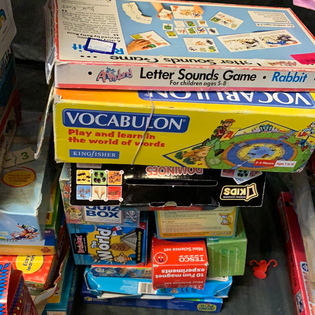 Educational games (age 6-10)