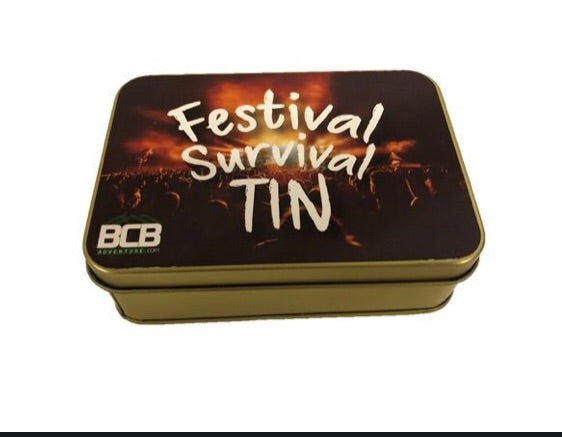 BCB Festival Survival Tin