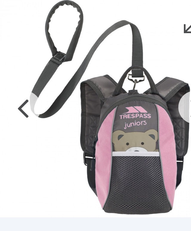 Trespass MINI ME 3L PINK TODDLERS BACKPACK