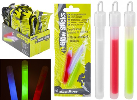 Summit Glow coloured sticks 3 pack