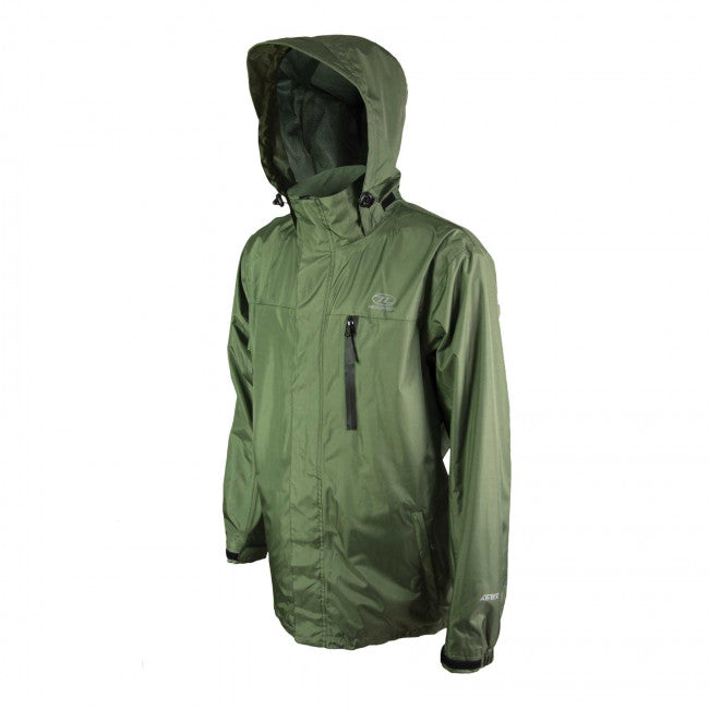 Highlander Arran Jacket Olive