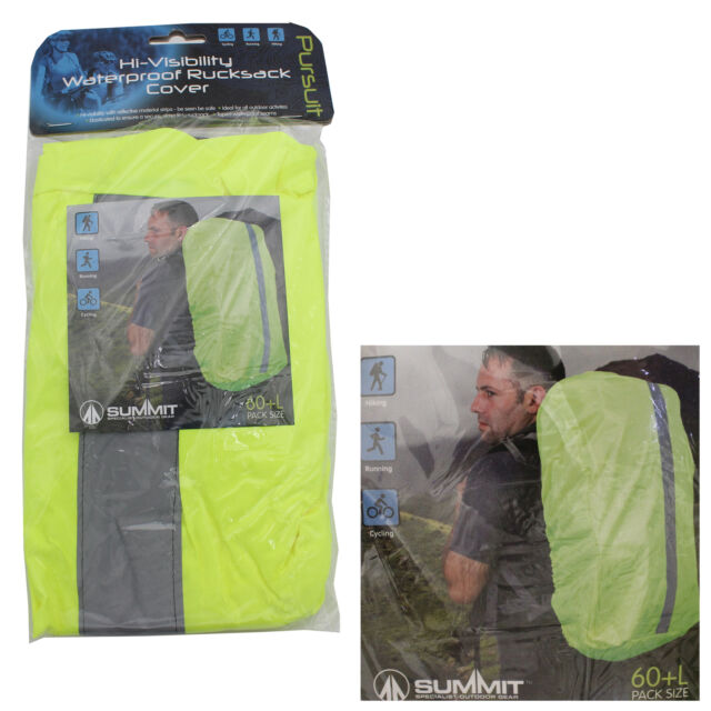 Summit High visibility waterproof rucksack cover