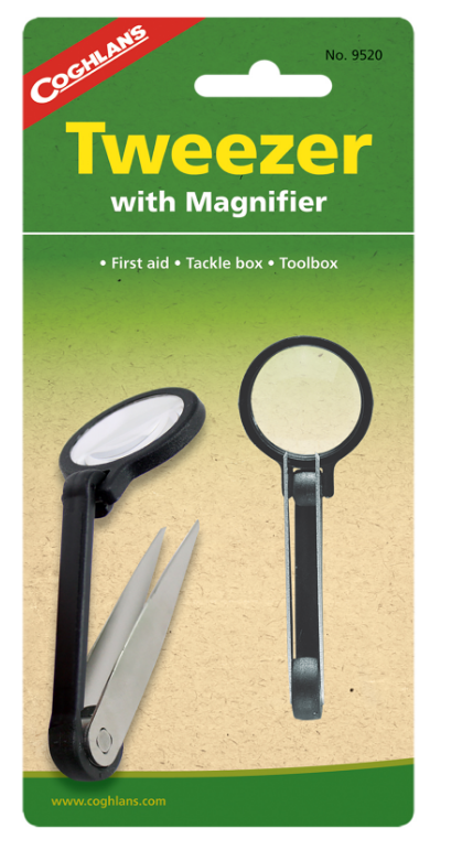 Coghlan's Tweezers with Magnifier